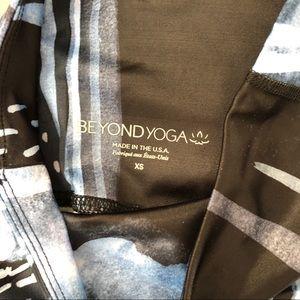 Beyond Yoga Pants - Beyond Yoga rain and cloud printed leggings